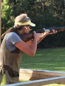 Andra Malone is an avid shooter and supporter of Children's Miracle Network Hospitals.